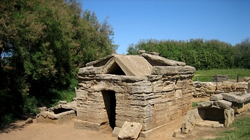 Etruscan Tomb at Populonia