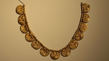 Etruscan Gold Necklace