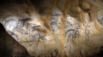 Panel of the Horses, Chauvet Cave (Replica)