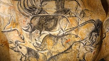 Panel of the Rhinos, Chauvet Cave (Replica)