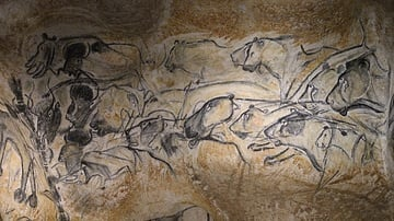 Panel of the Lions, Chauvet Cave (Replica)