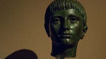Bronze Head of an Etruscan Youth
