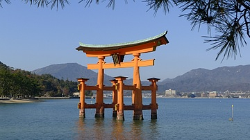 Torri, Itsukushima Shrine