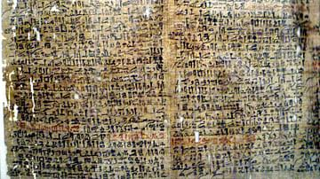 The Westcar Papyrus (Detail)