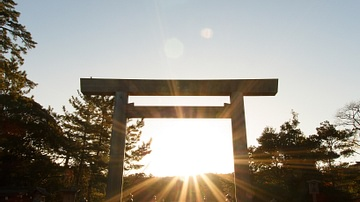 Torri, Ise Grand Shrine