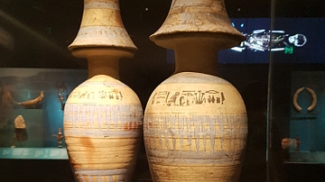 Wine Jars Of Nedjmet