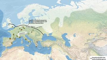 Homo Heidelbergensis & Early Neanderthal Fossil Sites