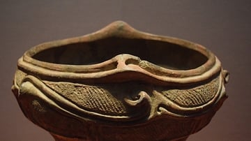 Jomon Bowl (Detail)