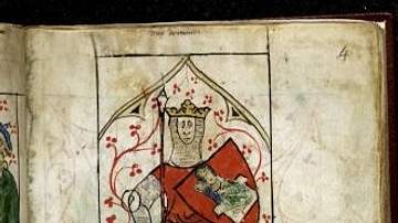 King Arthur, English Manuscript