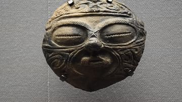 Jomon Clay Mask