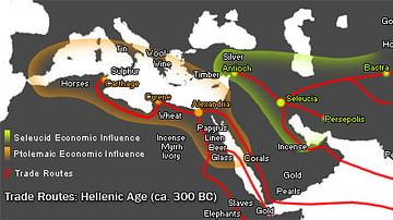 Hellenic Trade Routes, 300 BCE