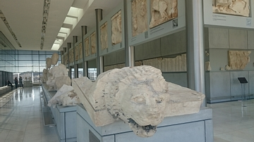 Lion Pediment, Parthenon
