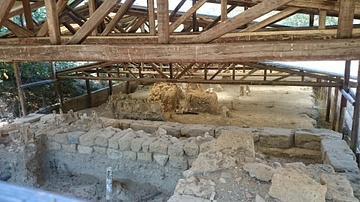 Ancient bridge of Amphipolis