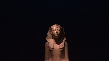 Seated Statue of Maatkare Hatshepsut