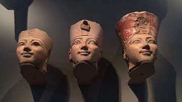 Osiride Heads of Hatshepsut