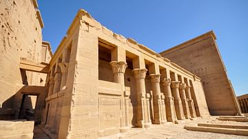 Birth Colonnade, Hatshepsut's Temple