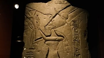 Nefertiti Offering to the Aten