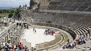 Stage, Theatre of Ephesos