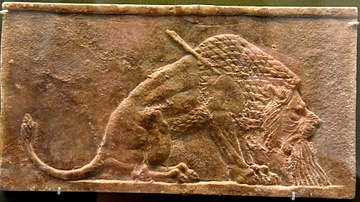Assyrian Dying Lion