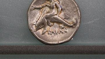Silver Stater of Tarentum