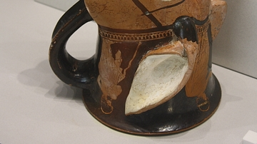 Mule-shaped Rhyton, Tarentum
