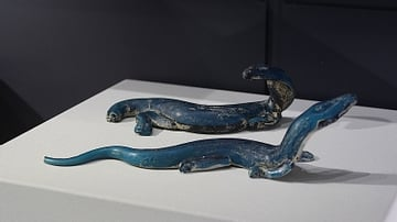 Roman Glass Lizards