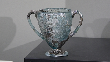 Roman Two-handled Glass Cup