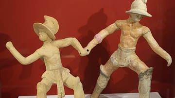Roman Terracotta Gladiators
