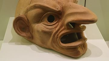 Roman Comedy Theatre Mask