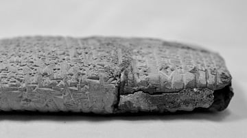 Illegally Excavated Mesopotamian Clay Tablet [8]