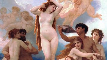 The Birth of Venus by Bouguereau