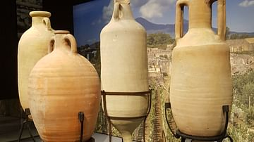Olive Oil Amphora From Africa