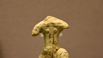 Halaf Period Female Figurine