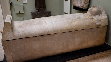 Phoenician Coffin from Sidon