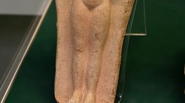 Goddess Astarte Votive Plaque