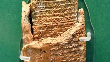 Cuneiform Tablet with Envelope from Alalakh