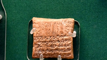 Clay Tablet from Alalakh with Idrimi's Seal