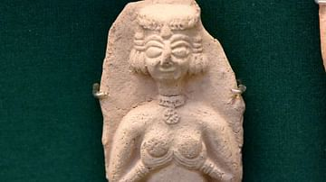 Plaque of Astarte from Alalakh