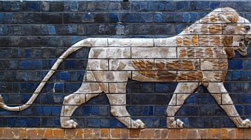 Lion of Babylon, Ishtar Gate