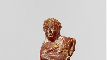 Etruscan Amber Figurine