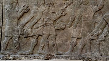 Wall Reliefs: Ashurnasirpal II's War Scenes at the British Museum