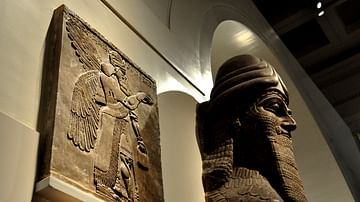 Wall Reliefs: Apkallus of the North-West Palace at Nimrud