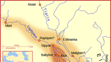 Babylon at the time of Hammurabi