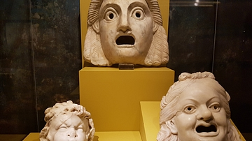 Three Fountain Heads from Pompeii