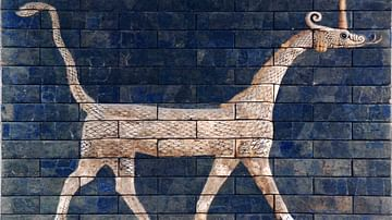 Dragon of the Ishtar Gate