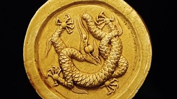 Chinese Dragon Roof Tile