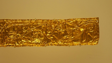 Golden Plaque from Ancient Colchis