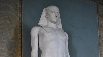 Statue of Osiris-Antinous