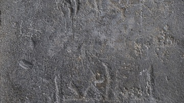 Arabic Graffiti at the Temple of Garni