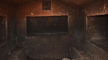 Urartian Burial Niche Interior at Agarak